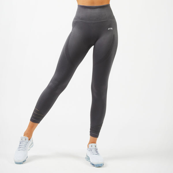 Balance Seamless Leggings - Stone Grey