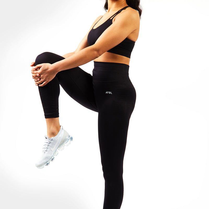Balance Seamless Leggings - Jet Black
