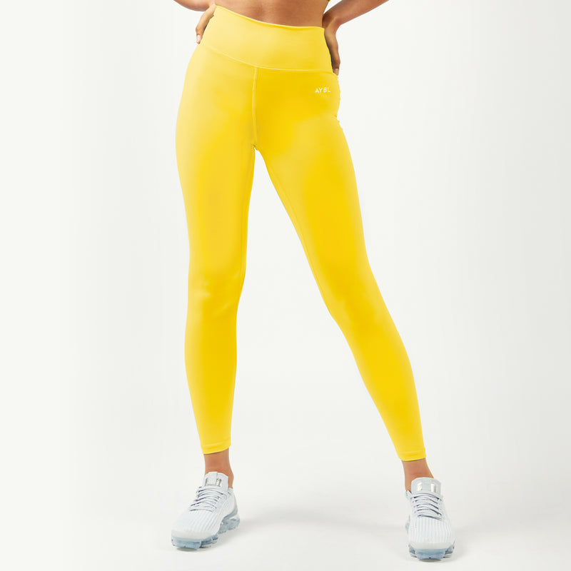 Core Leggings - Buttercup Yellow
