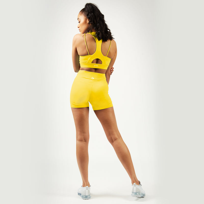 Core Shorts - Buttercup Yellow