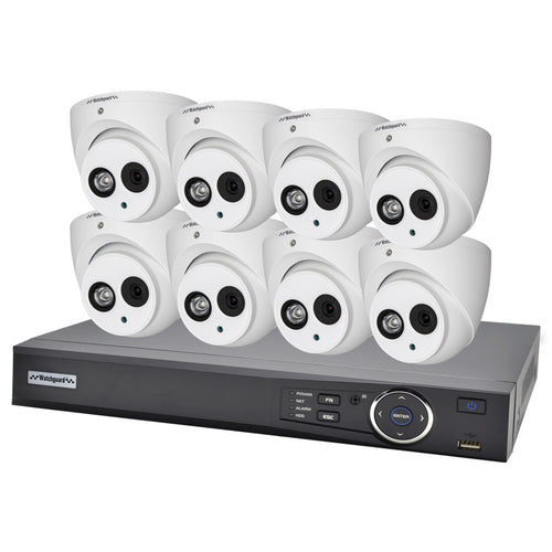 VIP VISION IP CCTV 8CH 2.0MP KIT
