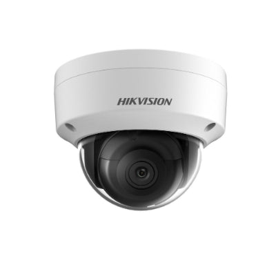 Hikvision 8MP Outdoor Dome Camera, H.265+, 30m IR, 120dB WDR, IP67, IK10, 2.8mm