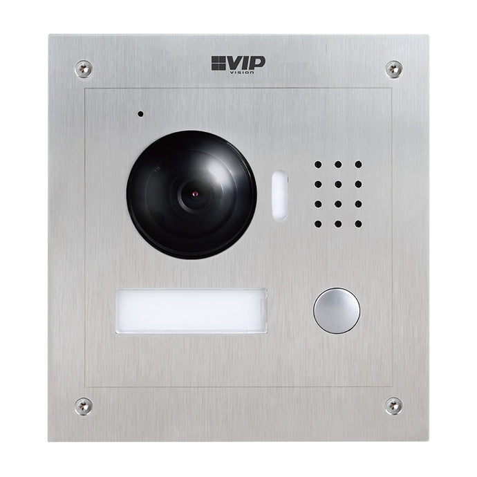 VIP VISION INTERCOM RESIDENTIAL SERIES IP DOOR STATION (STAINLESS STEEL)