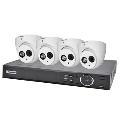 VIP VISION IP CCTV 4CH 2.0MP KIT