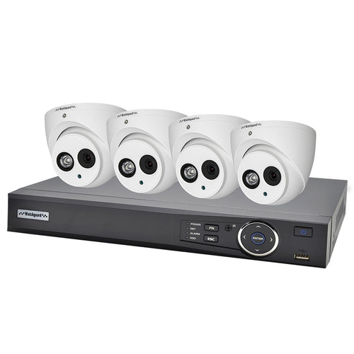 VIP VISION IP CCTV 4.0MP 4CH KIT