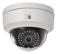 X2 Video 2MP Outdoor Fixed Lens Dome Camera, 30m IR, 1080p, 120dB WDR, IP67, 4mm