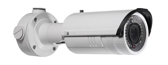 X2 Video 4MP Outdoor Motorised VF Bullet Camera, 30m IR, 120dB WDR, IP67 2.8-12