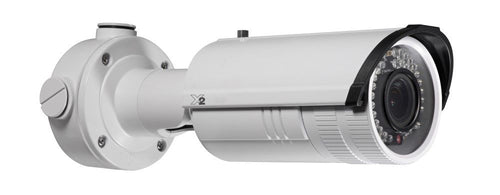 X2 Video 2MP Outdoor Motorised Varifocal Bullet Camera, 30m IR, 120dB, WDR, IP67, 2.8-12mm