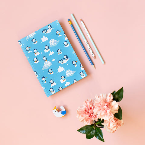 Cuaderno «Penguins»