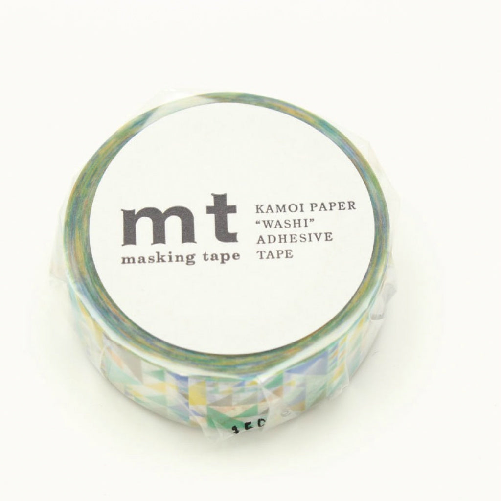 MT Masking Tape Sankaku Blue