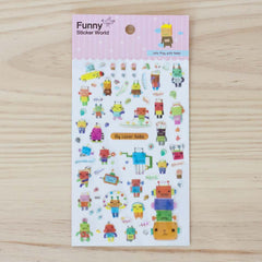 Stickers Let's Play With Robo