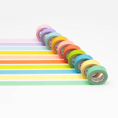 MT Masking Tape 10 Light Colors