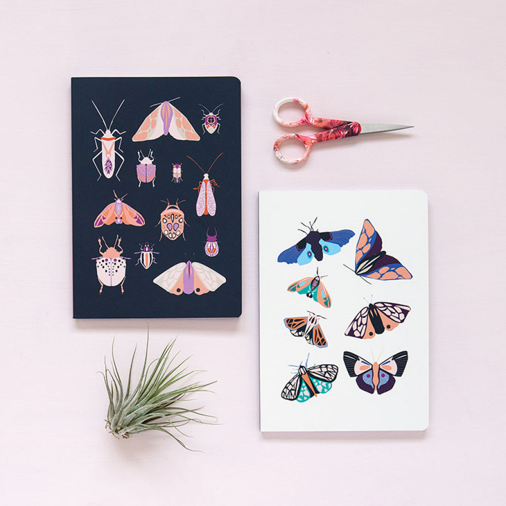 Set de 2 cuadernos Entomology