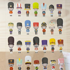 Stickers Toy Soldiers