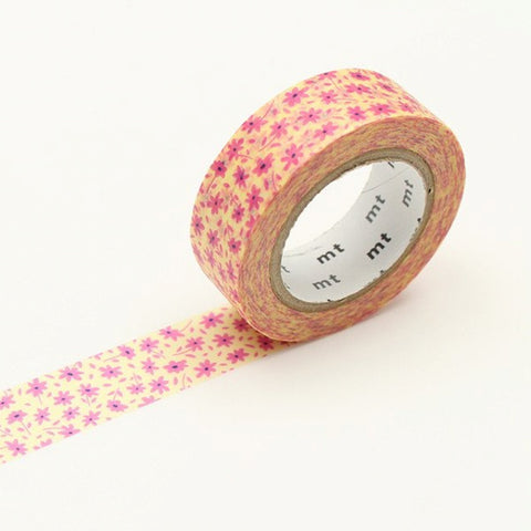 MT Masking Tape Pink Flower