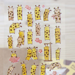 Stickers Lovely Giraffe