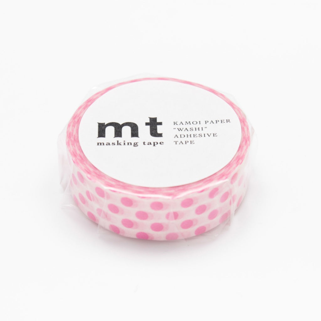 MT Masking Tape Dot Pink