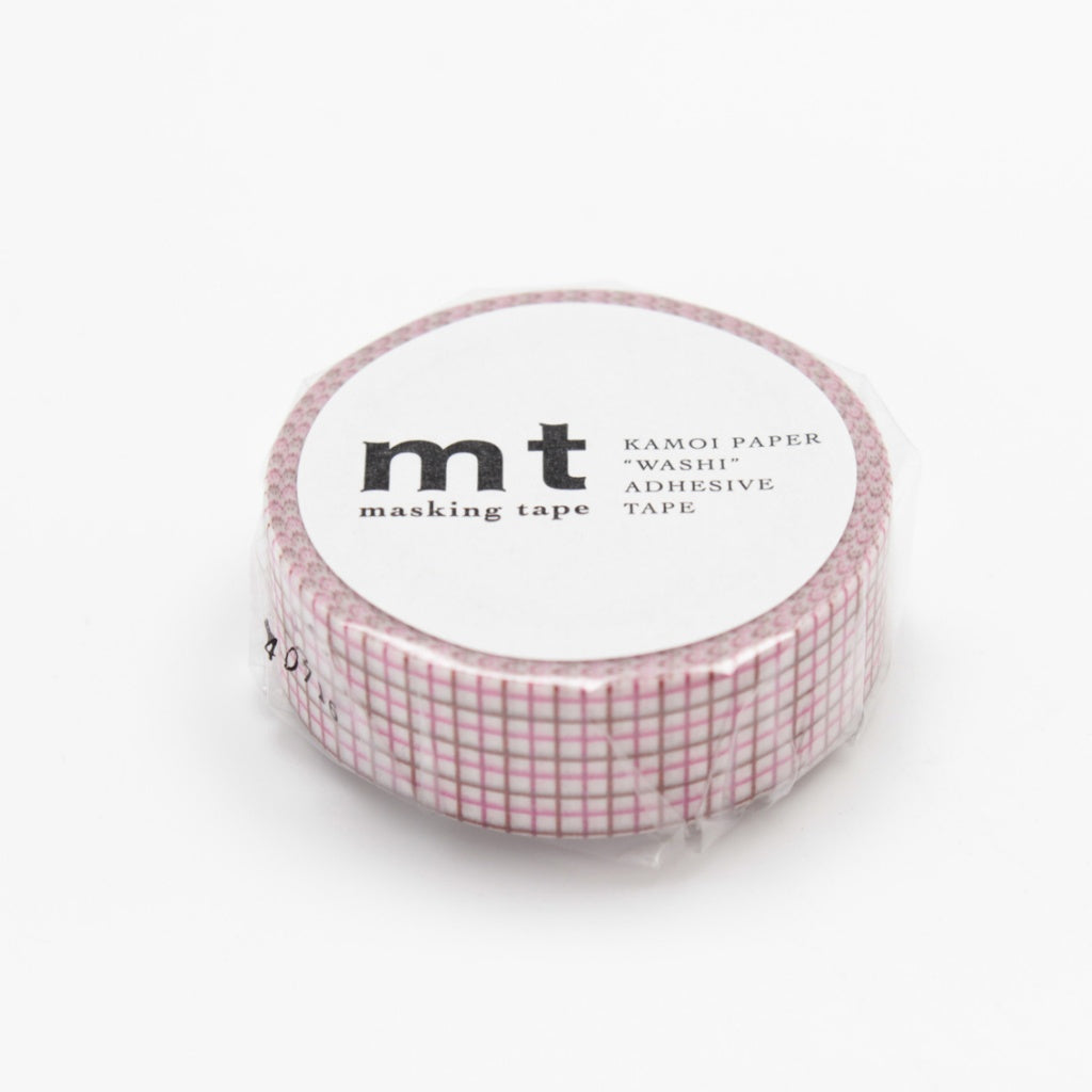MT Masking Tape Hougan Pink x Brown