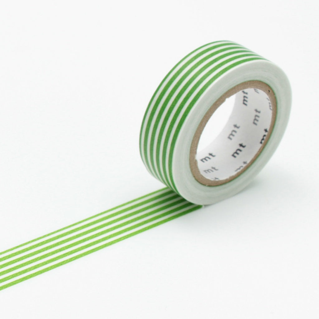 MT Masking Tape Border Light Green