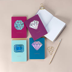 Cuaderno Jewellery Collection Turmalina Rosa