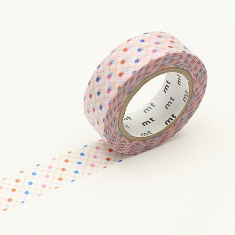 MT Masking Tape Hasen Dot Red