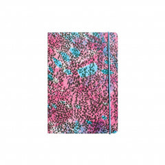 Cuaderno Deluxe (A4) Pink Animal Print