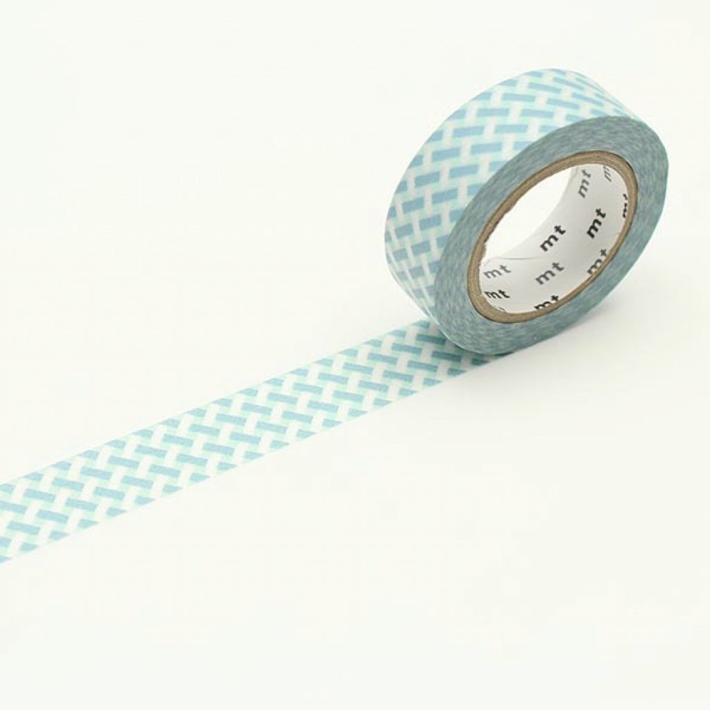 MT Masking Tape Net Check Blue