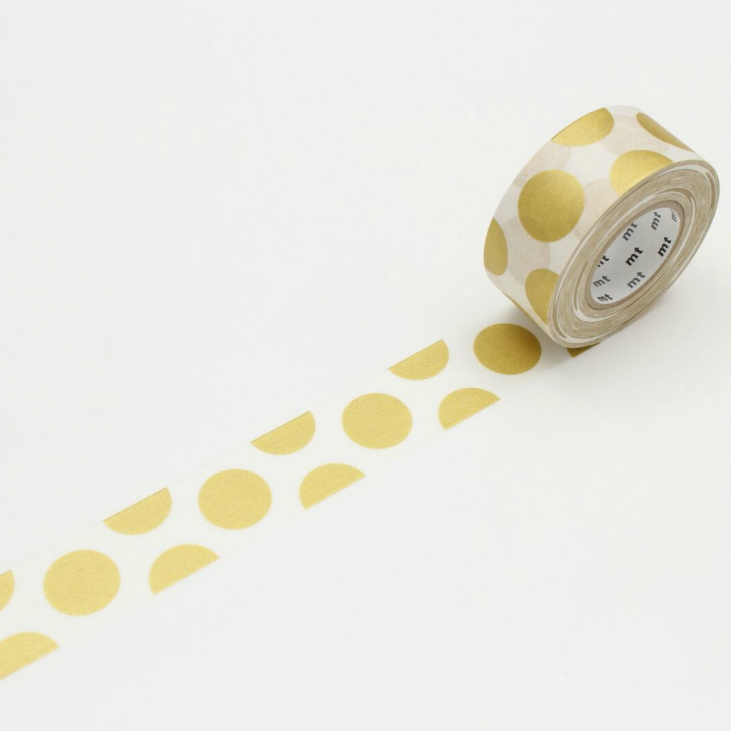 MT Packaging Tape Dot Gold