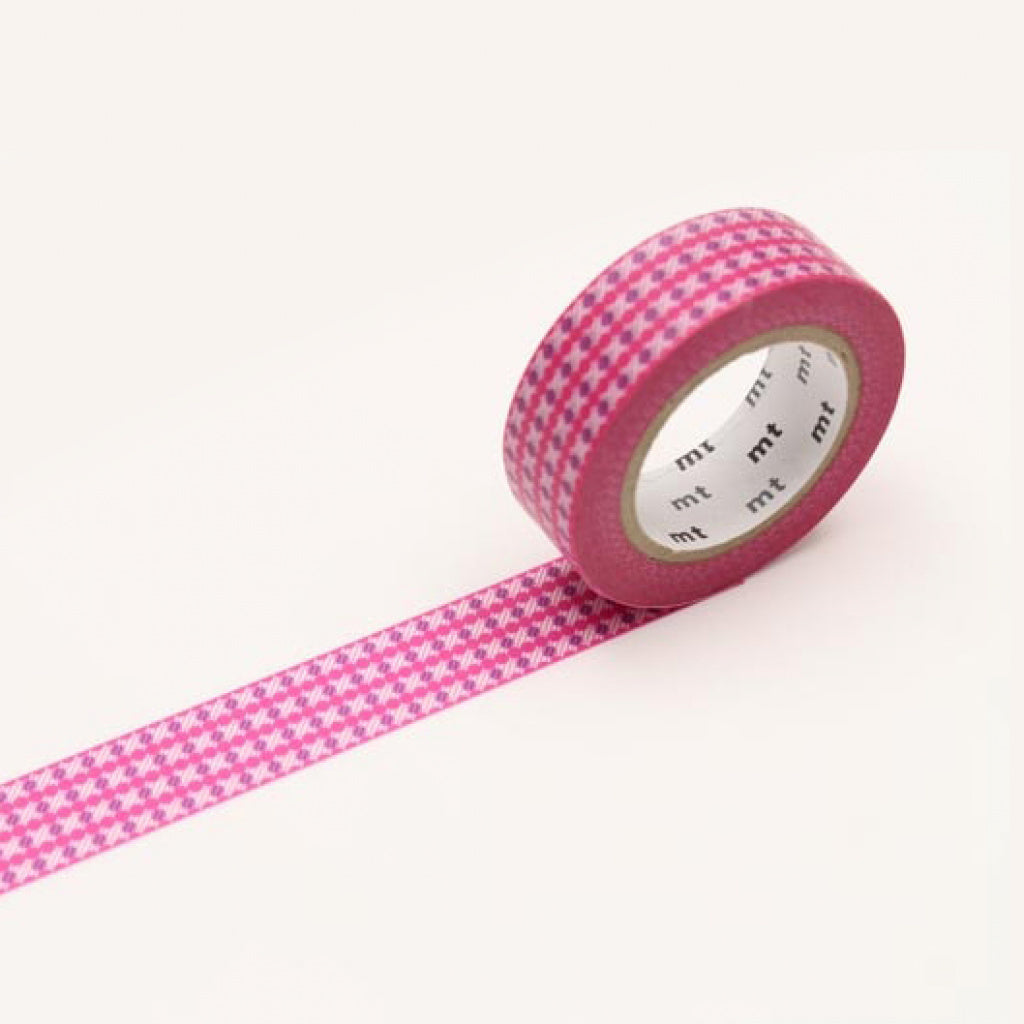 MT Masking Tape Dot Stripe Pink