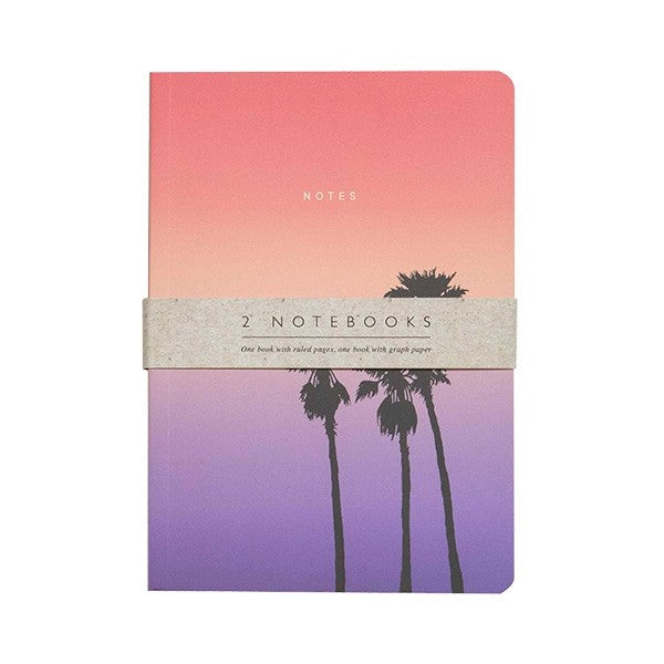 Set de 2 Cuadernos Sunset