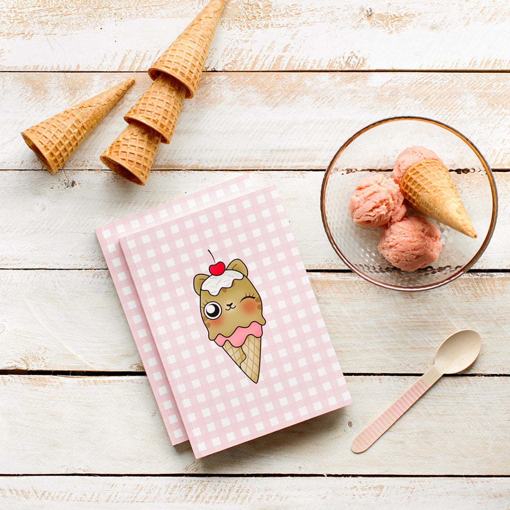 Cuaderno «Ice Cat»