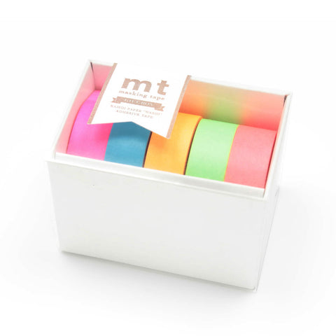 MT Masking Tape Gift Box Neon