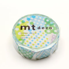MT Masking Tape Negapoji Dot Blue