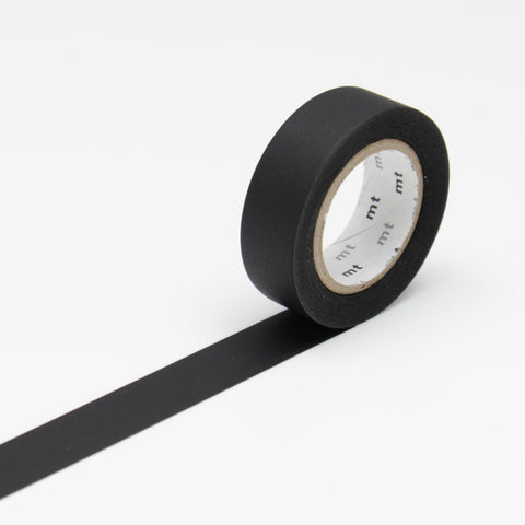 MT Masking Tape Matte Black