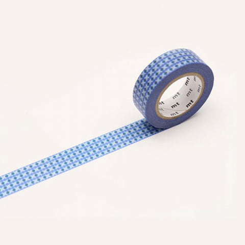 MT Masking Tape Dot Stripe Blue