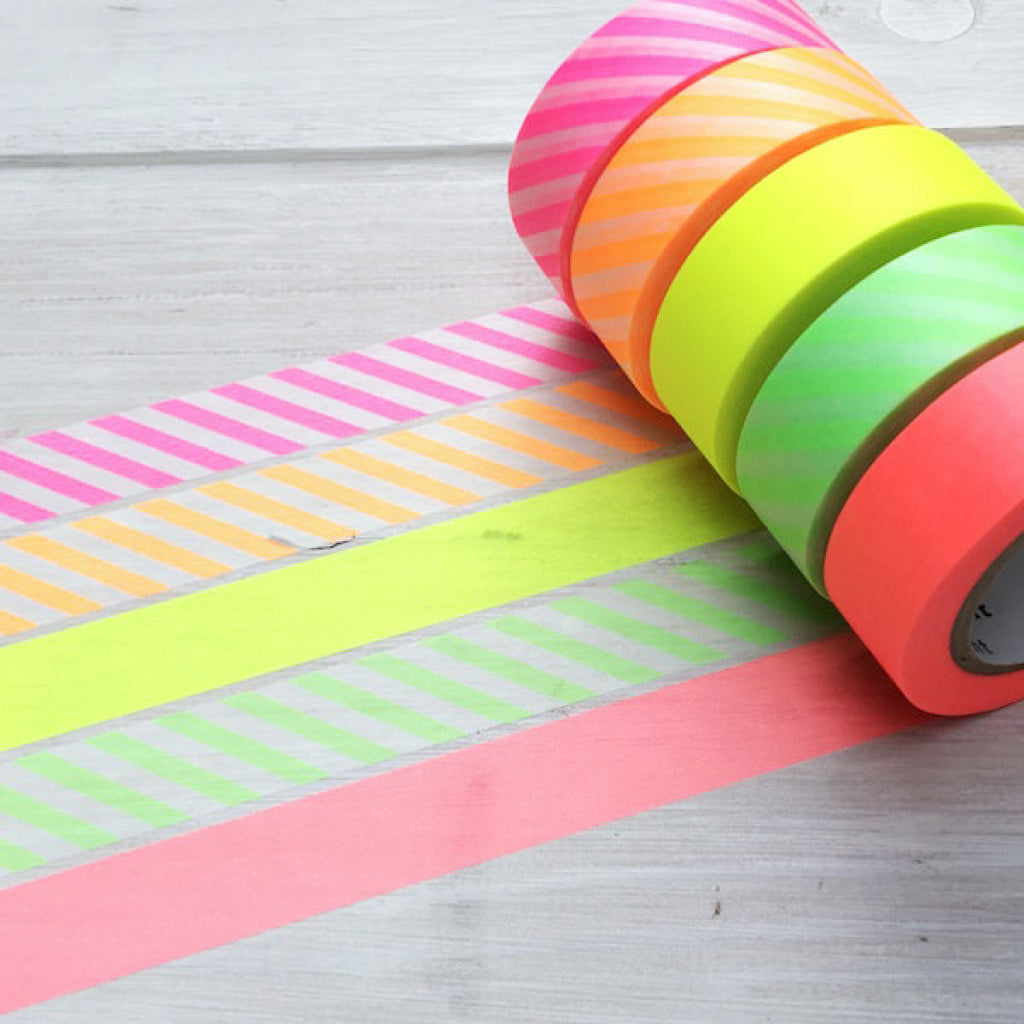 MT Masking Tape Gift Box Neon 2