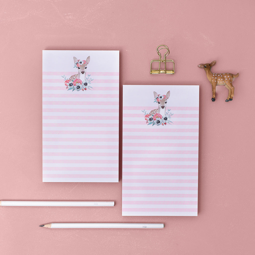 Notepad Lovely Deer