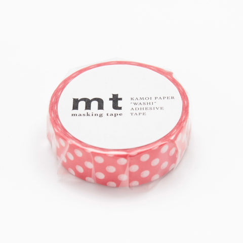 MT Masking Tape Dot Red Base