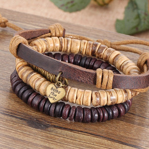 Retro Multi-layer Leather Bracelet