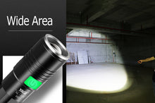 USB LED Rechargeable Flashlight