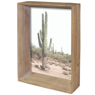 mika picture frame, wood, 5x7
