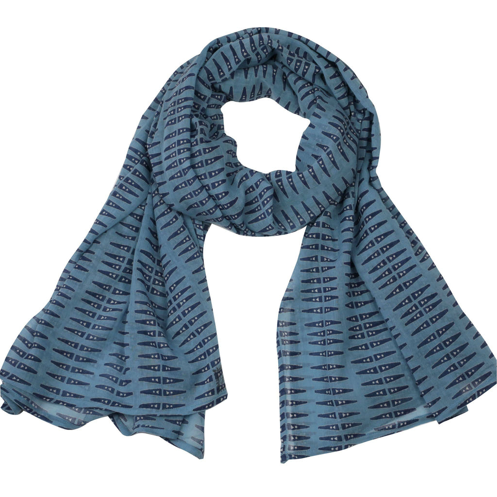 Anabel Blue Scarf