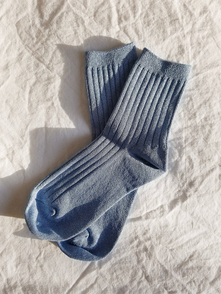 her socks - lurex