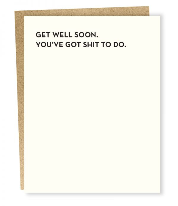 #932: Get Well Soon Card