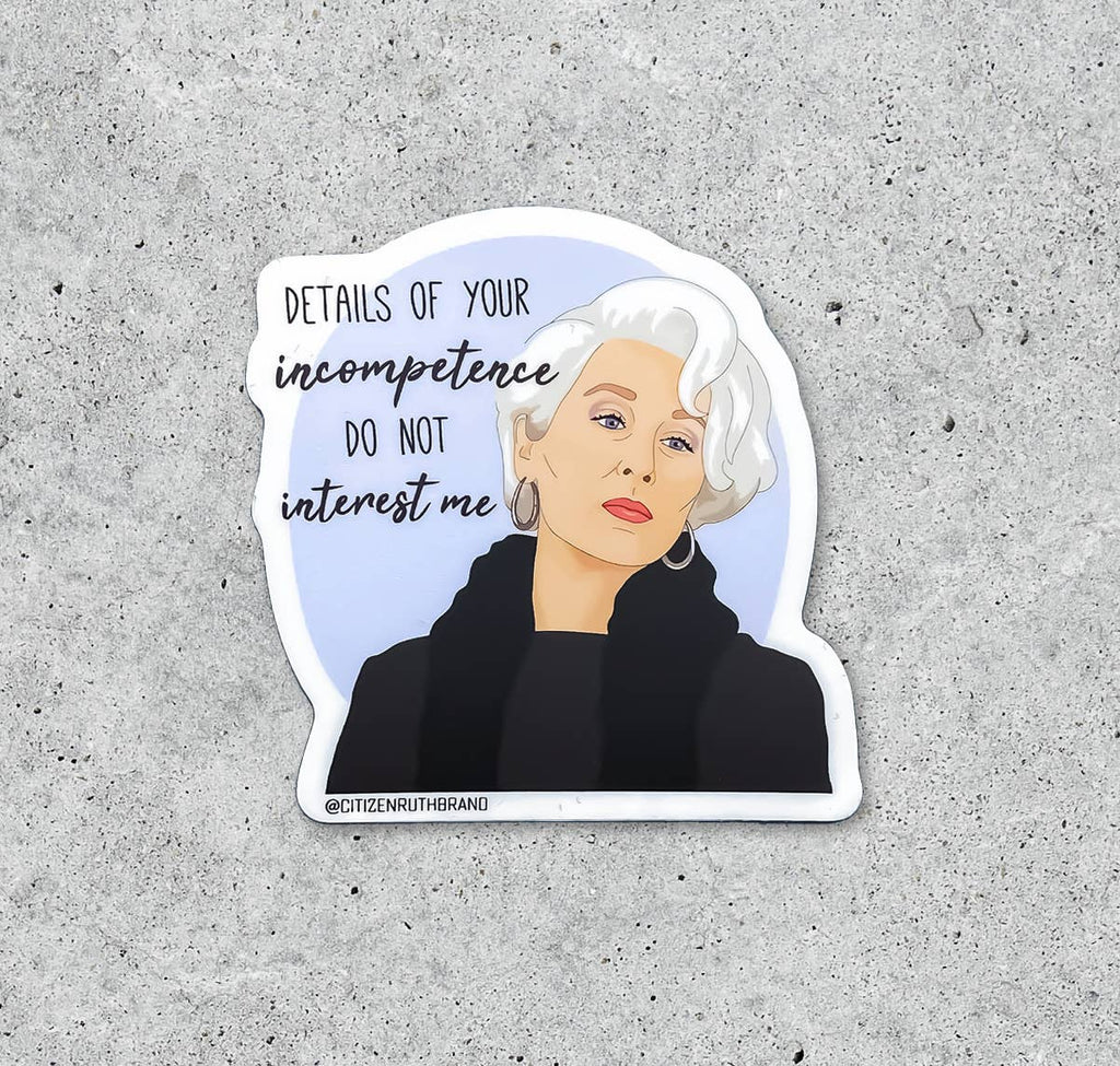Devil Wears Prada Sticker