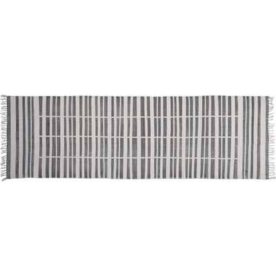 broken stripe rug 2.5 x 8