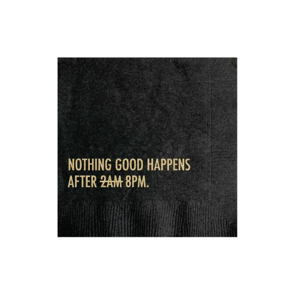 after eight napkins