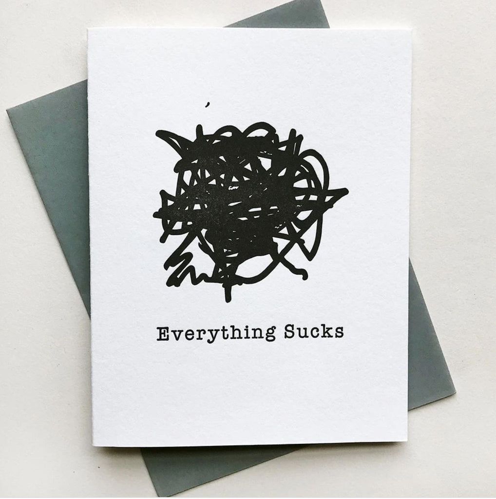 everything sucks card