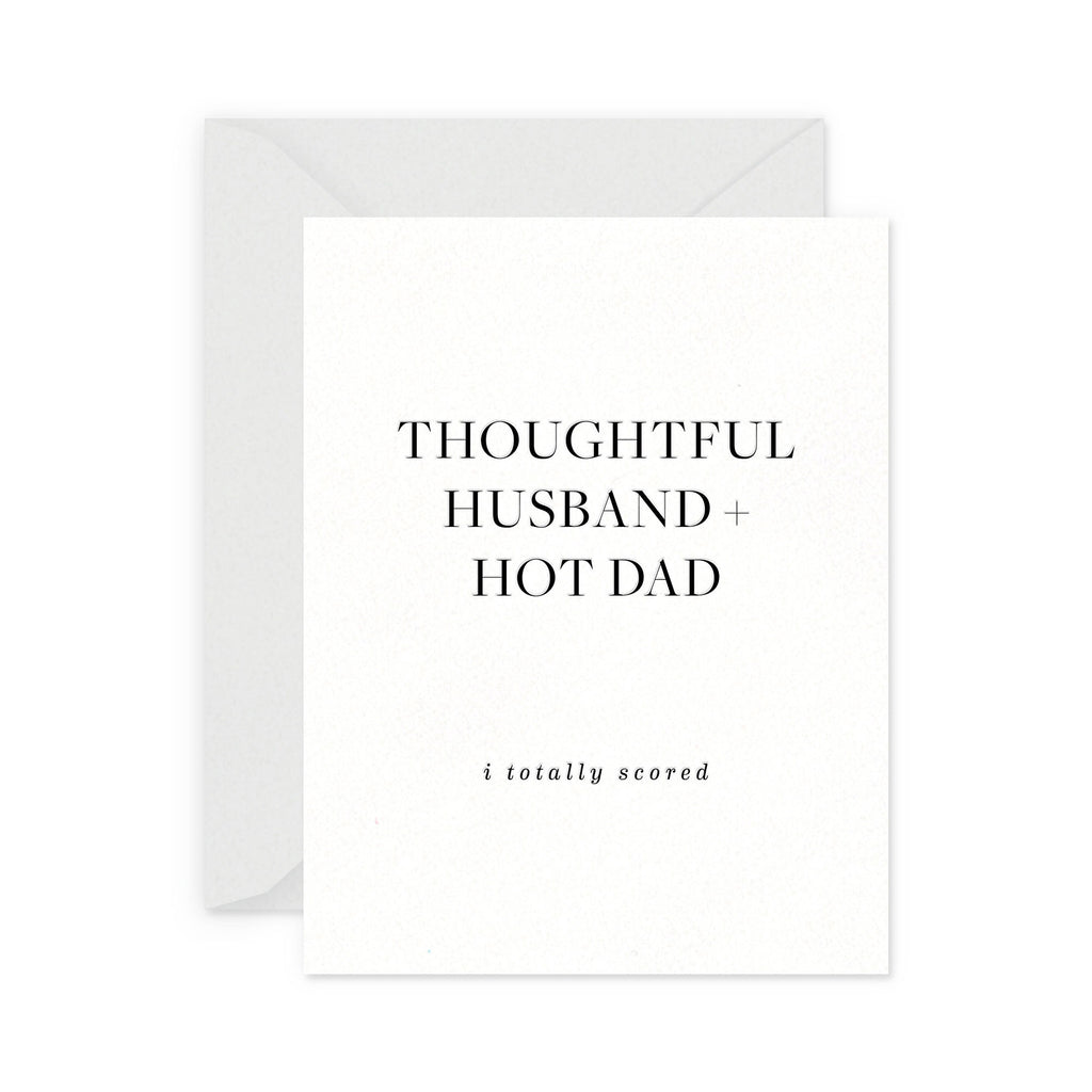 thoughtful husband card