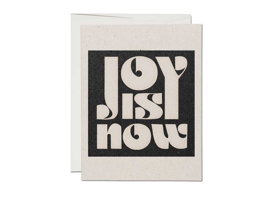 joy is now card